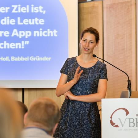 20180523 VBKI Unternehmertreffen Babbel com 151 BF Inga Haar web?itok=nVNUjZY1