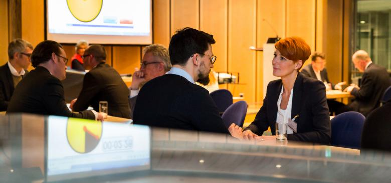 Business Speed Dating beim VBKI