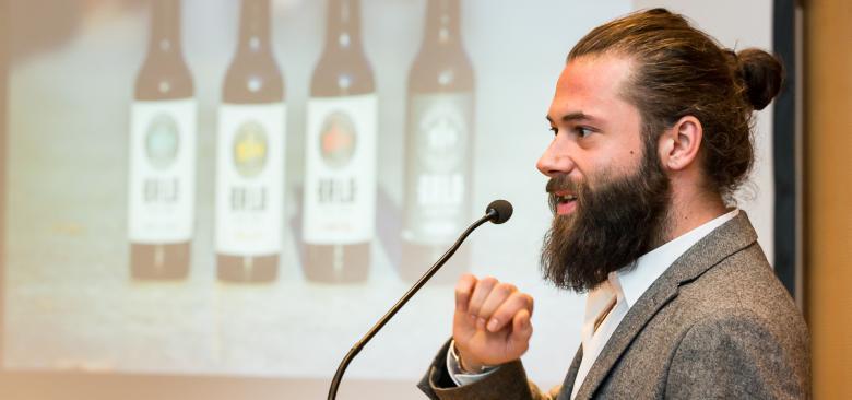 BRLO-Gründer Christian Laase beim VBKI Unternehmertreffen