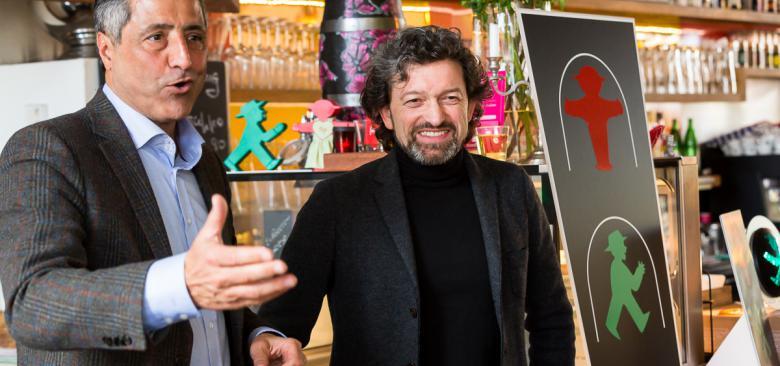 Unternehmertreffen im Ampelmann Restaurant